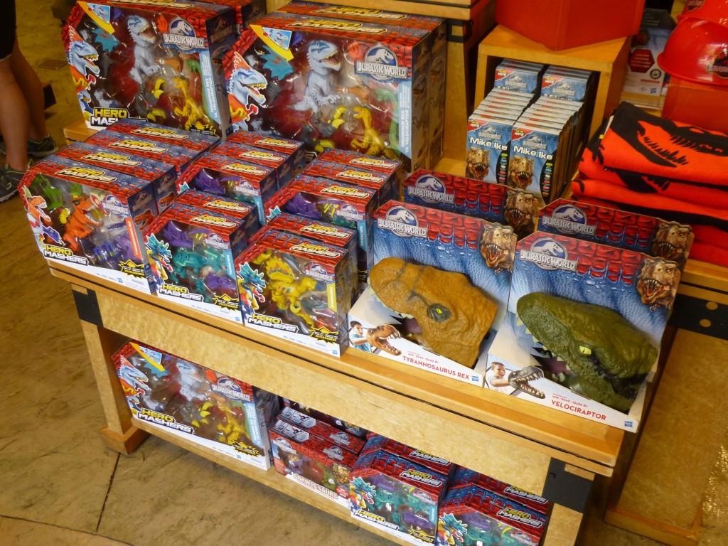 Toys toys toys! Jurassic World toys make it into the park!