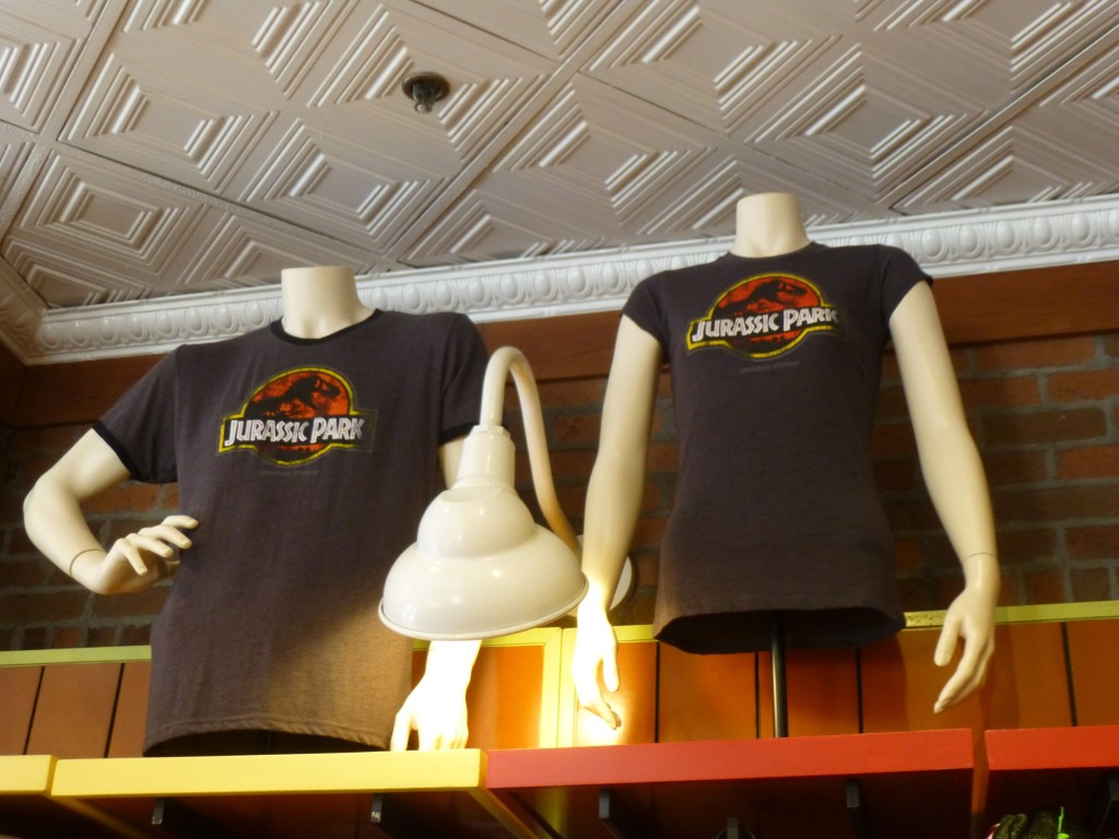 And of course, classic Jurassic Park shirts are always available here