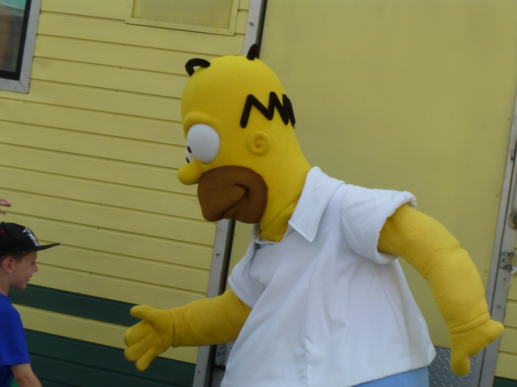 Homer J. Simpson, nice to meet you!