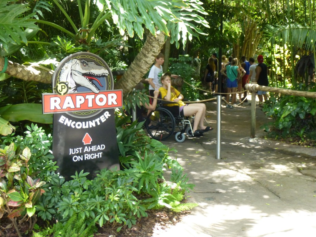 Raptor Encounter got some new signs pointing people in the right direction