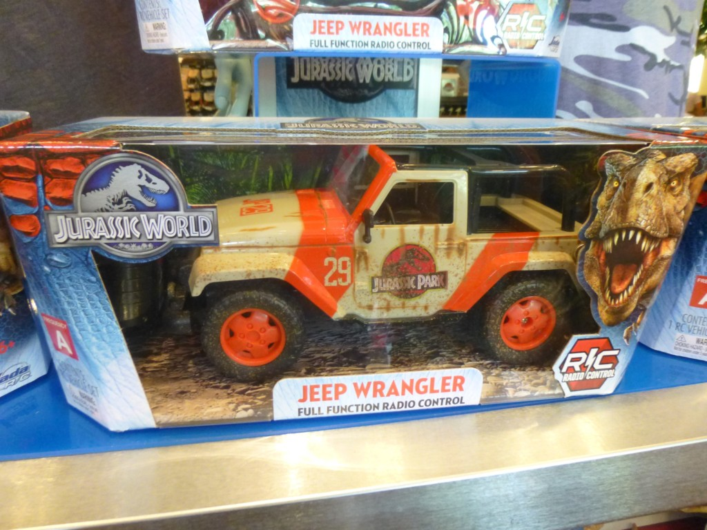 This radio controlled Jeep Wrangler is new since my last visit, and is really hard to find in stores!