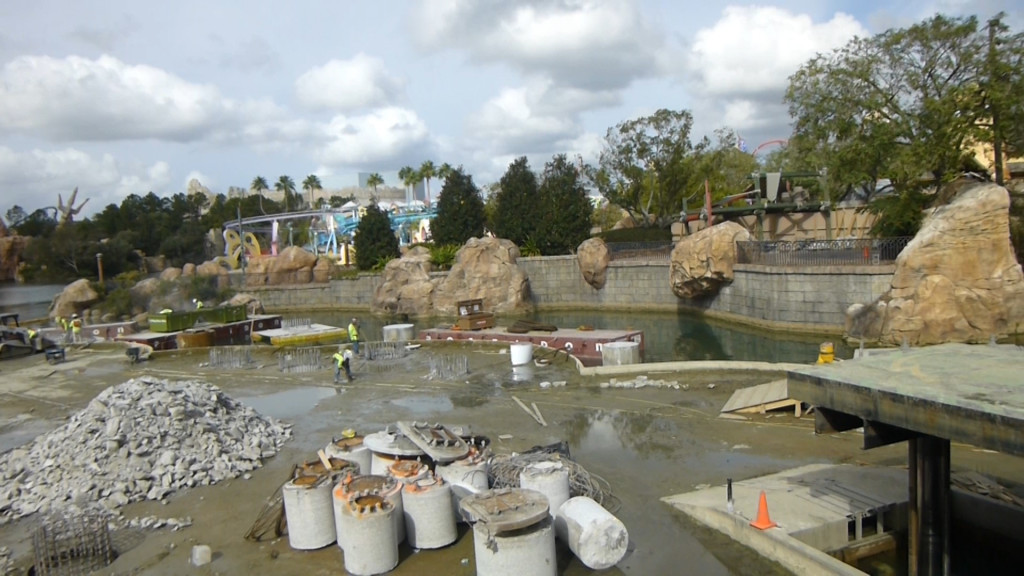 Lots of work yet to be done in the lagoon