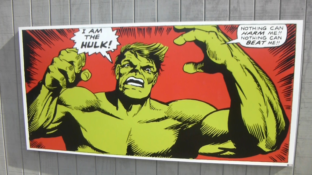 Nothing can harm the Hulk!