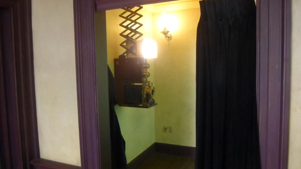 Magical camera room