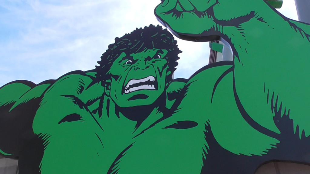 Hulk happy! Track back!