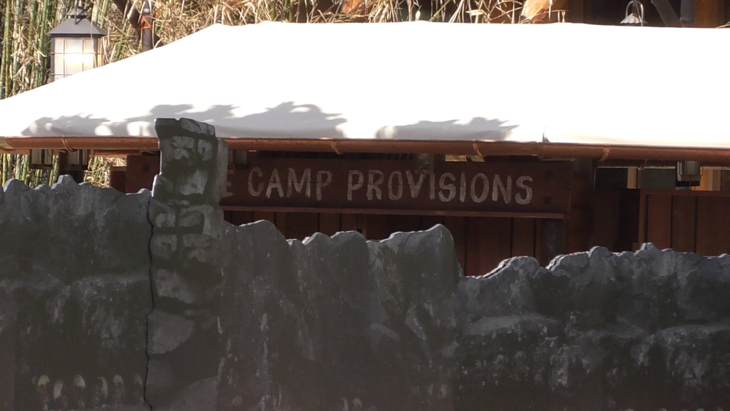 Base Camp Provisions outdoor gift shop stand