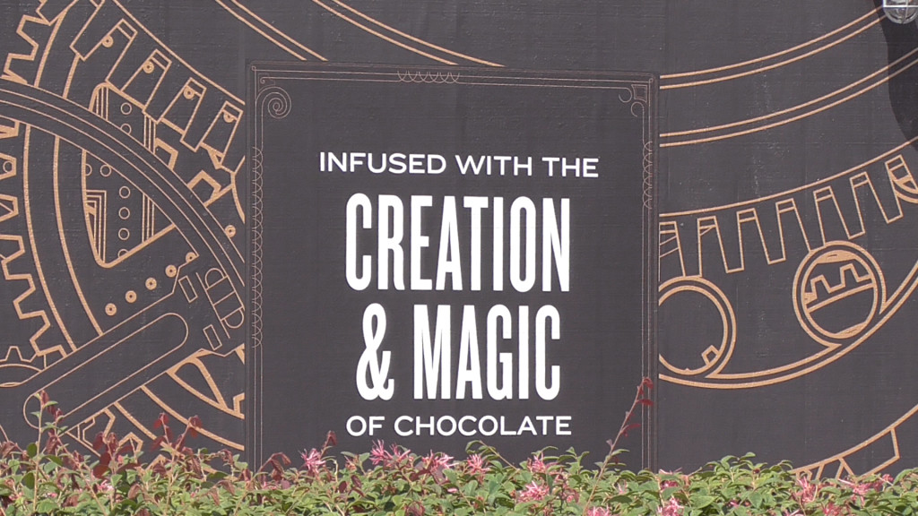 Magic of chocolate