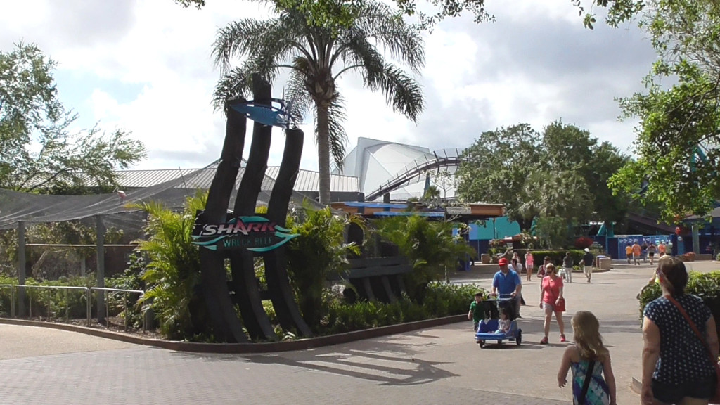Underwater shipwreck theming taking shape around the area