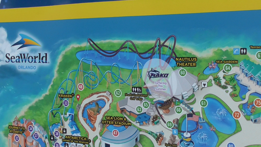 Mako on the park maps!
