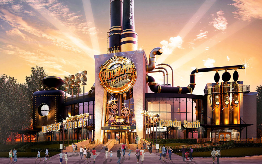 Toothsome Chocolate Factory Concept