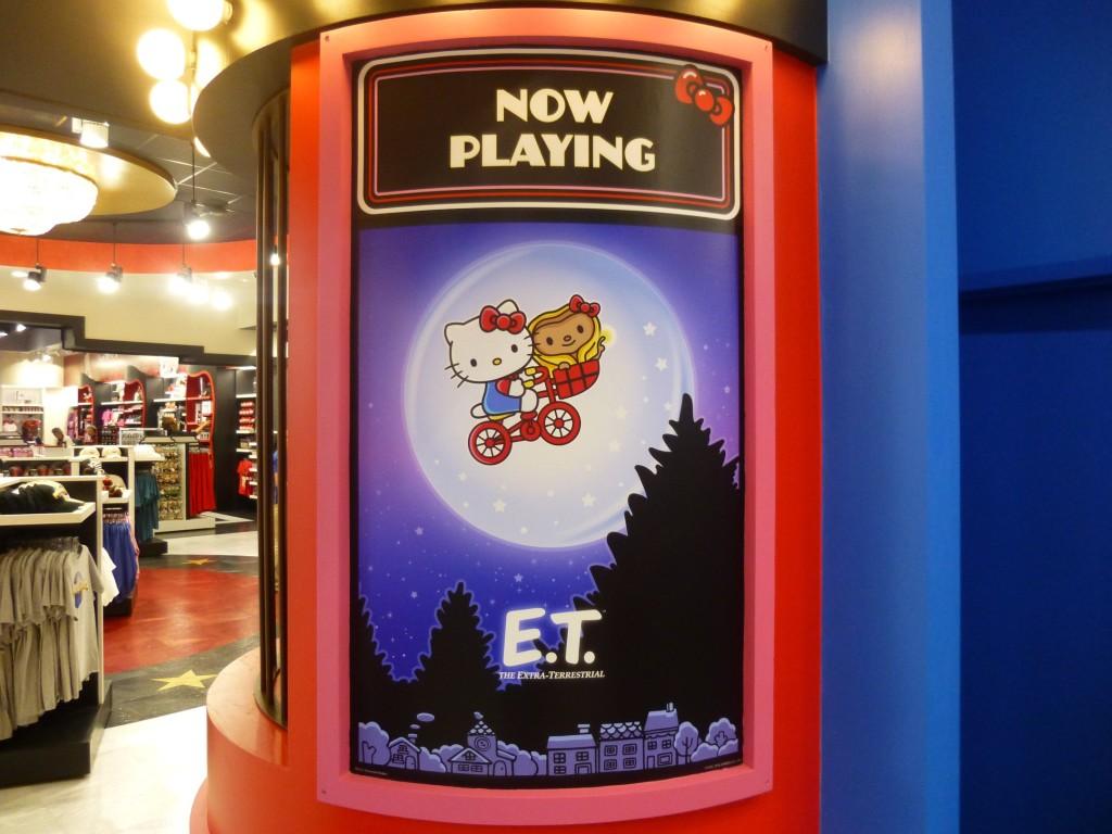 E.T. starring Hello Kitty and a cute E.T.
