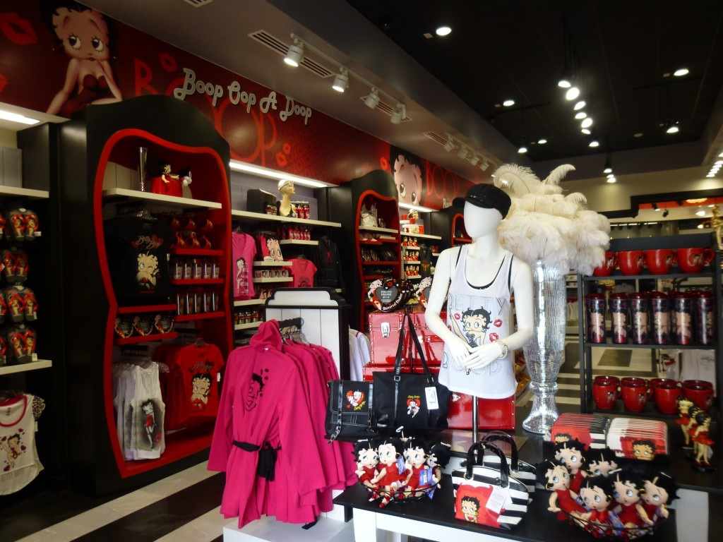 Inside the newly refreshed Betty Boop store