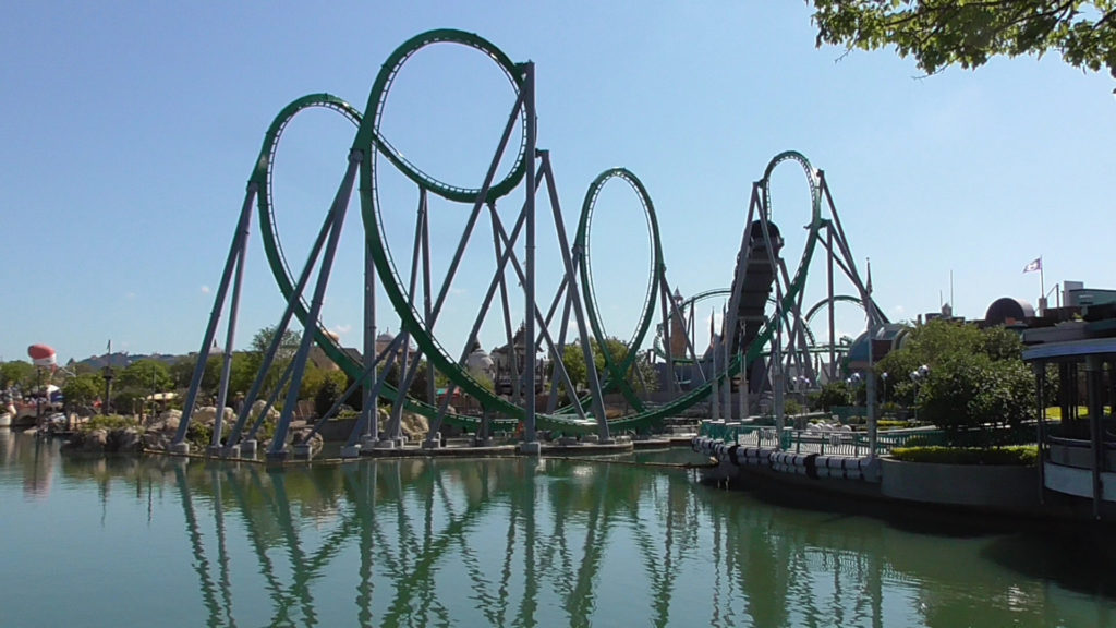 The stunning view from Toon Lagoon