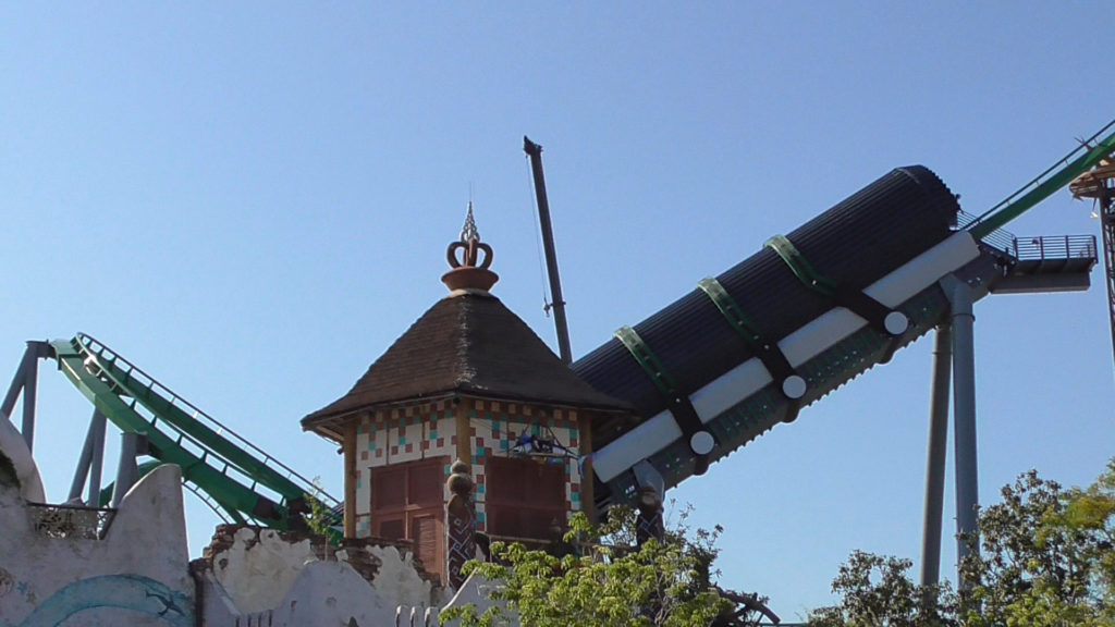 Launch tunnel's new color scheme looks complete