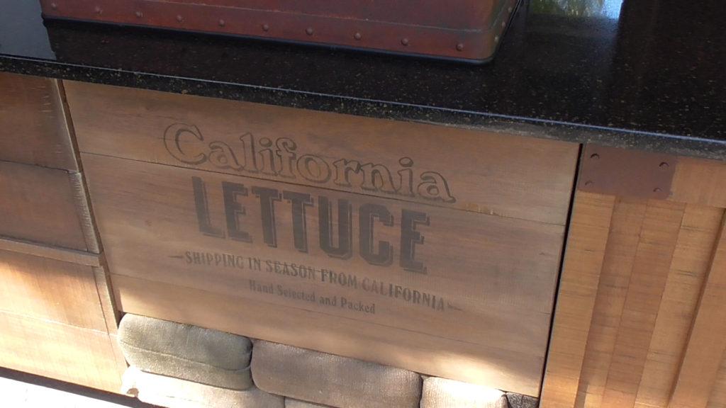 Lettuce crate