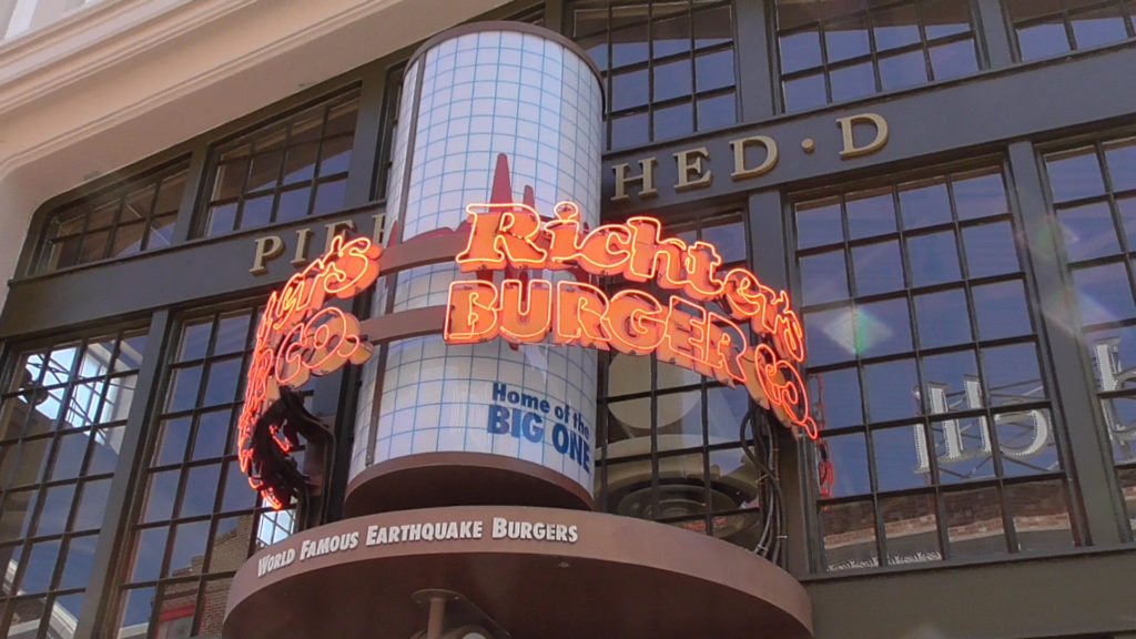 "Rumor has it Richter's Burger Co. will close to be rethemed eventually, to something more fitting than famous ""Earthquake"" burgers"