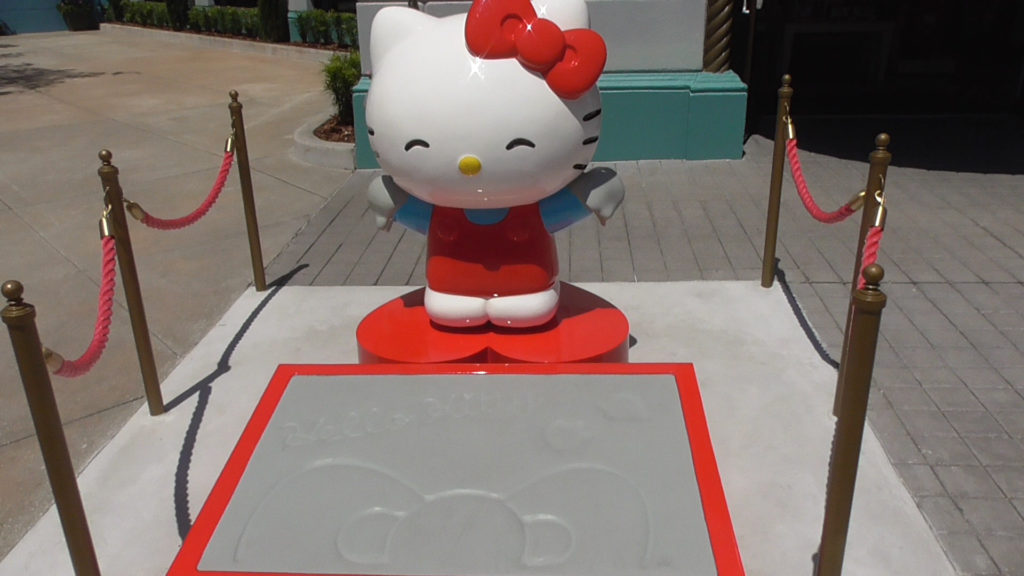 Hello Kitty's gone Hollywood!