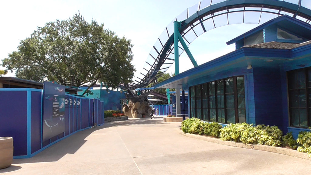 Looking down the pathway towards Mako entrance