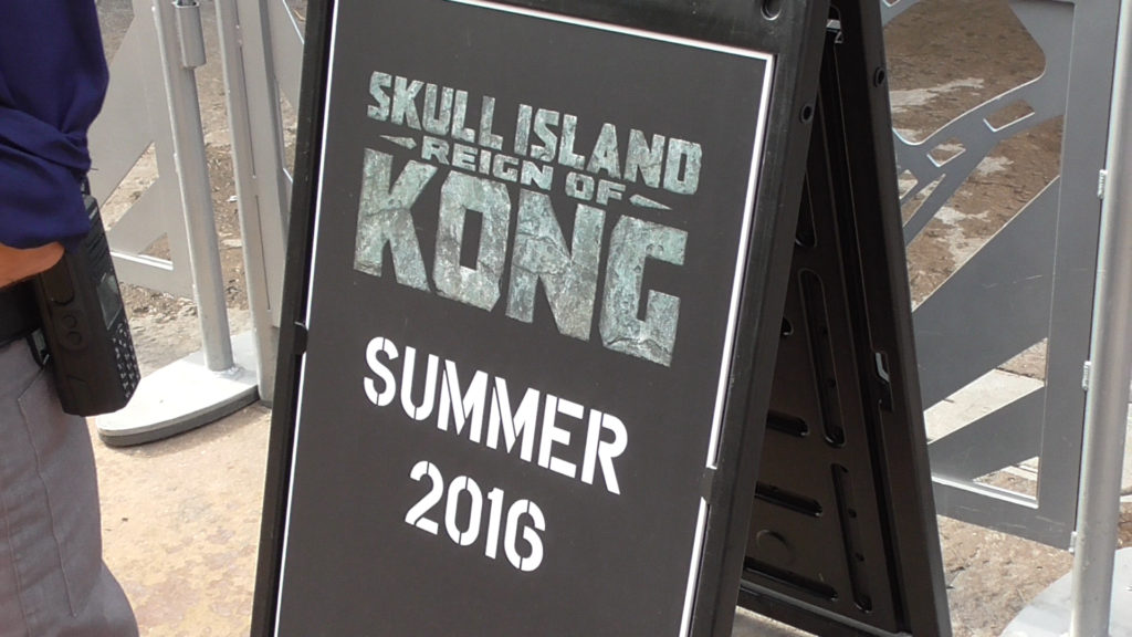 "As the sign says, the only answer you get when asking team members when Kong will be opening is ""Summer 2016"""