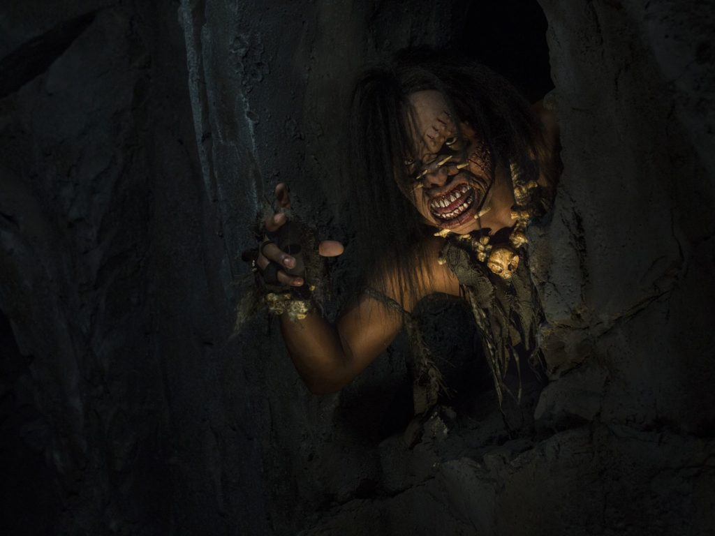 """""""Once inside the ruins, guests interact with the physical environment as the space gets tighter, the danger gets more authentic and they start to get the feeling the locals aren't necessarily friendly,"""" says Mike West, executive producer at Universal Creative."""