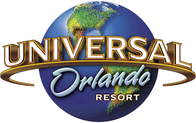 Old Logo: Featuring a very colorful world & different Orlando font