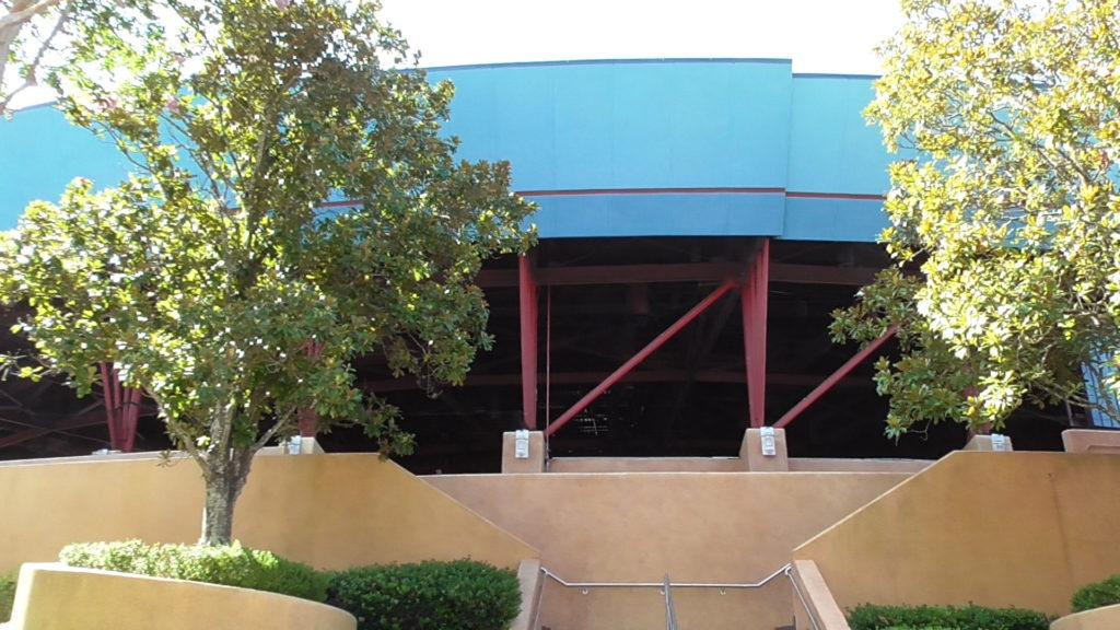 Huge unused theater