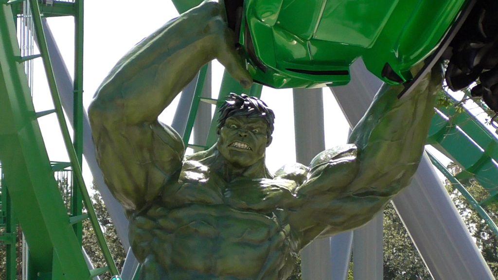 Hulk detailed!