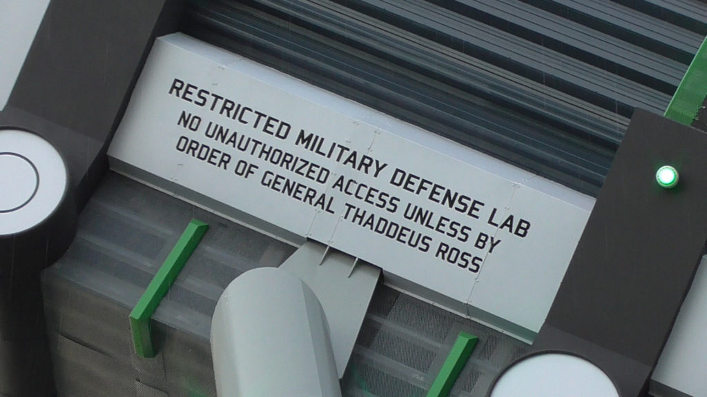 """Restricted Military Defense Lab"""