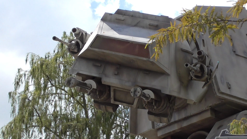 For a park that is getting a new Star Wars themed land, there's already a lot of Star Wars here