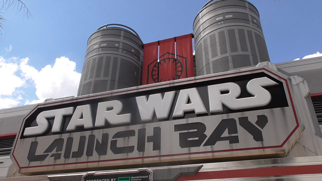 This was my first time visiting Launch Bay. It's nice to have something to do with so many attractions recently closed