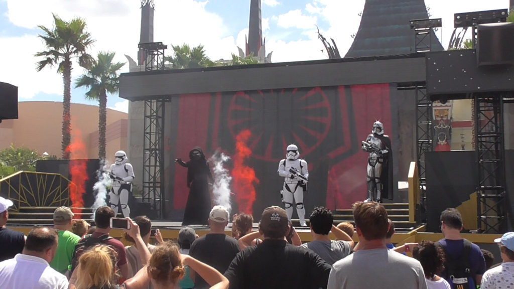 From the new Star Wars: A Galaxy Far, Far Away show