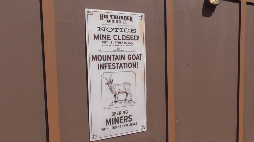 Gotta watch out for them darn goats