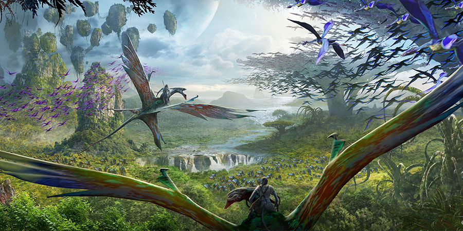 AVATAR Flight of Passage will be an e-ticket attraction will allow guests to experience what it's like to fly with banshees