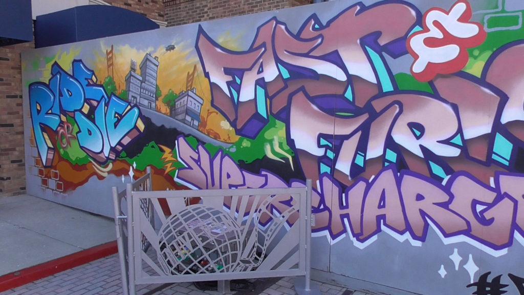 San Fransisco seen in work wall artwork