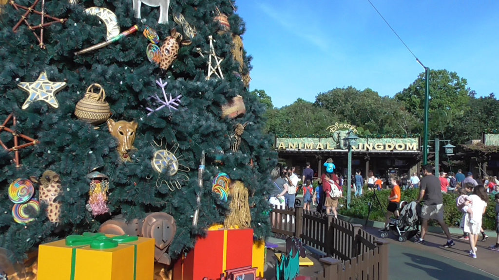 Welcome to Animal Kingdom at the Holiday season