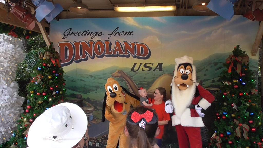 Meet the Disney dogs at Dinoland USA