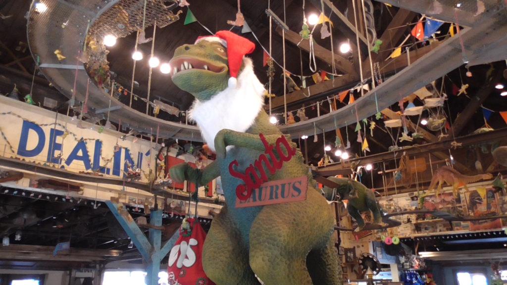 Santa-Saurus!