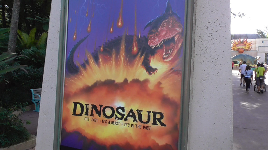 DINOSAUR ride back open after being closed for refurbishment