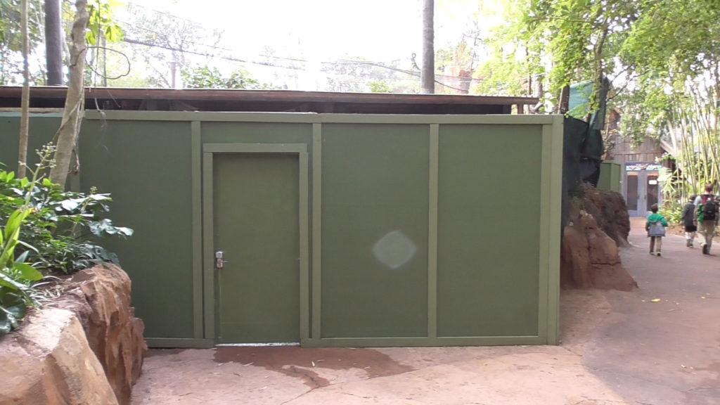 Monkey enclosure at Maharajah Jungle Trek is closed for refurbishment