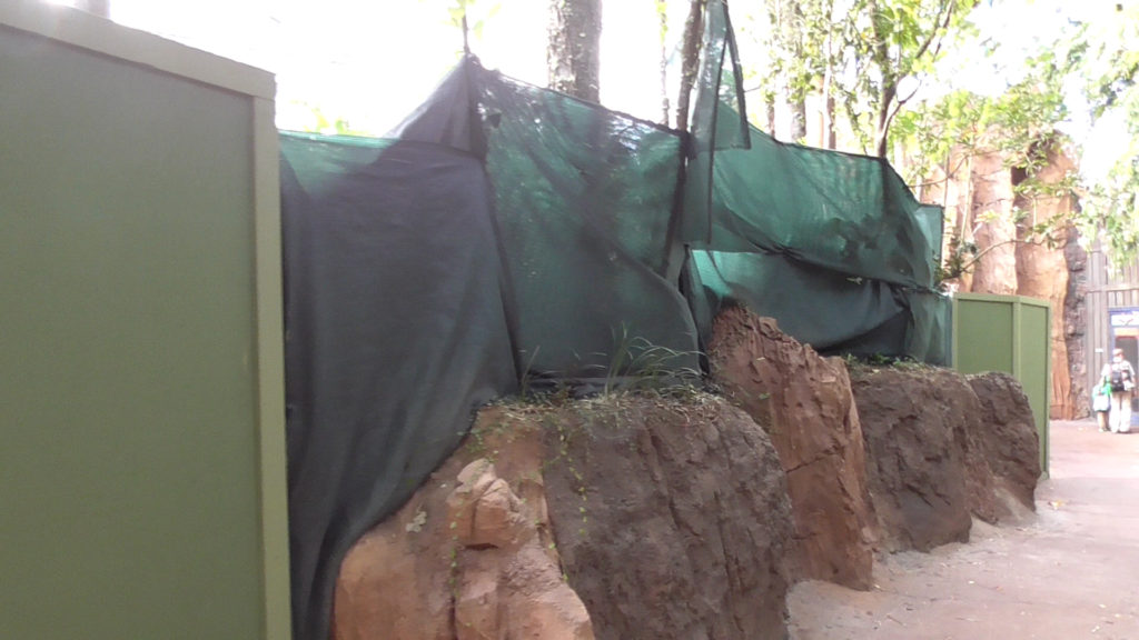 This enclosure usually houses lion-tailed macaques