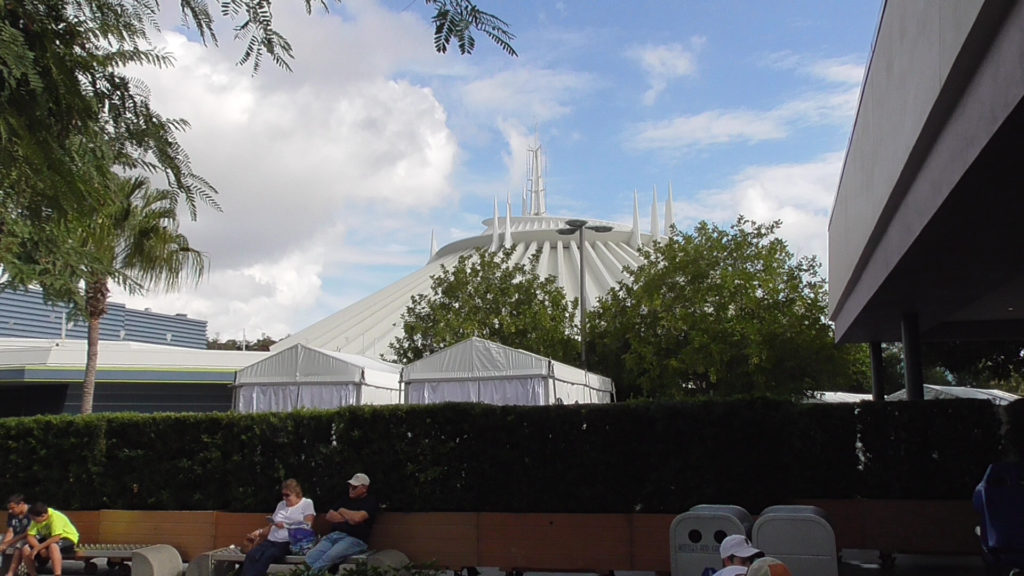Private cabana rentals for rent near Space Mountain