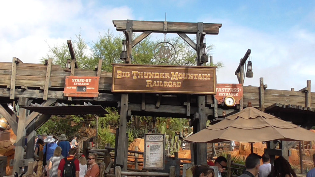 Big Thunder Mountain is back open after a somewhat-lengthy refurbishment