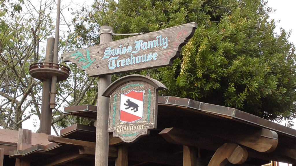 Swiss Family Treehouse is also back open after its downtime