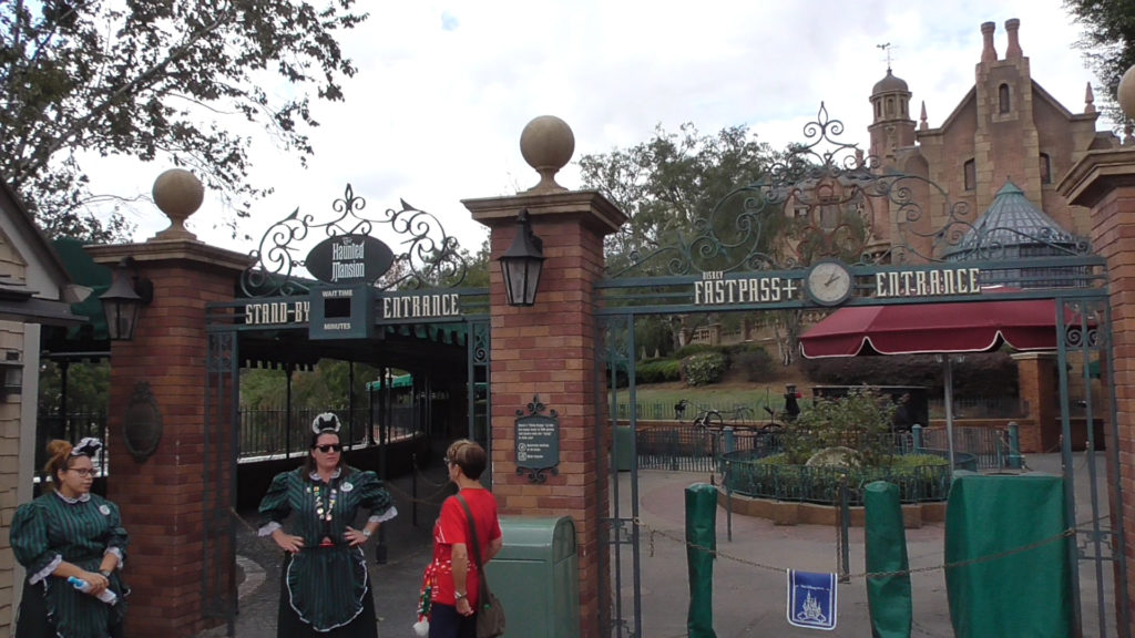 The Haunted Mansion was closed for just 4 days. No signs up, so cast members had to answer the same question all day